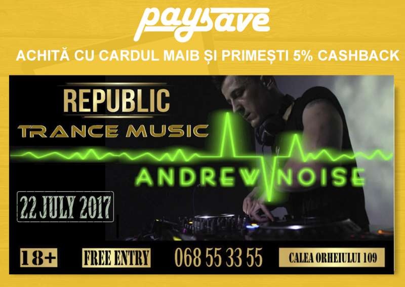 Republic Club - Marele Eveniment Vara 2017 la Trance Music!